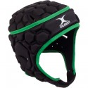Gilbert Falcon Black Green Headguard Black/Green